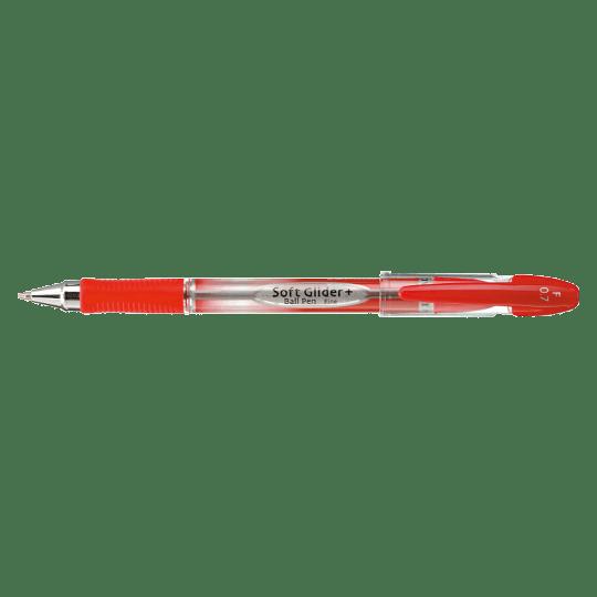 PENAC Japan - Kugelschreiber SOFT GLIDER + rot