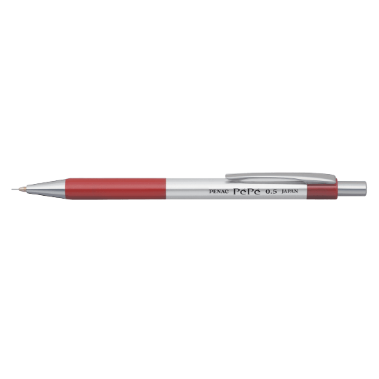 PENAC Japan - Druckbleistift PEPE rot
