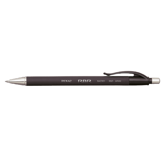 PENAC Japan - Kugelschreiber RBR schwarz