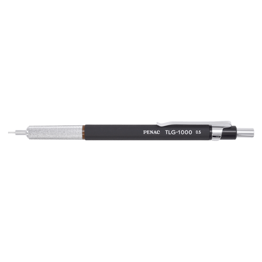 PENAC Japan - Druckbleistift TLG-1000 schwarz/braun