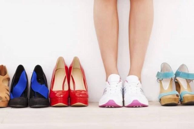 memilih sepatu yang tepat