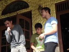Trio Handsome karaoke
