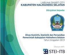 Dokumen Labuha Smart City Ada Sejak Tahun 2019