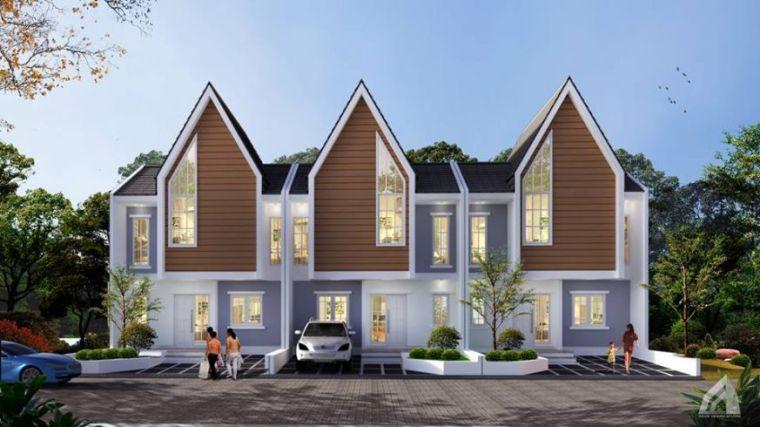 Model Rumah Minimalis Tipe Scandinavian