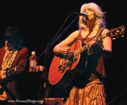 Emmylou Harris and Buddy Miller (left)
