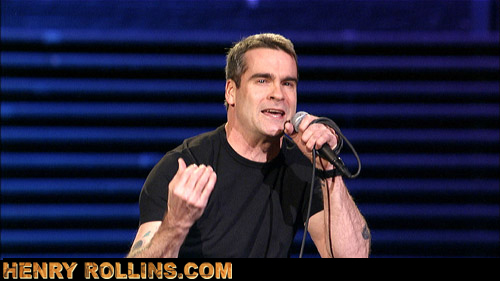 Henry Rollins runneth over
