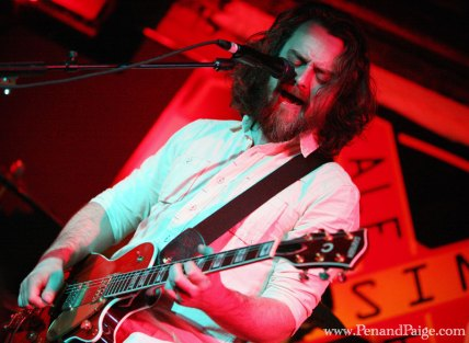 Lead singer and guitarist Jake Snider of Minus the Bear in performance in Billings on April 20, 2010.