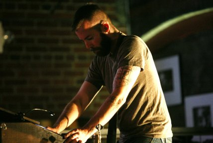 Russian Circles bassist Brian Cook at the helm of keyboards during a July 6 performance in Billings.