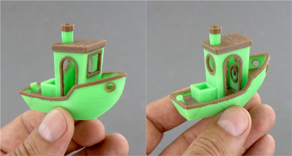 3D Benchy Tugboat
