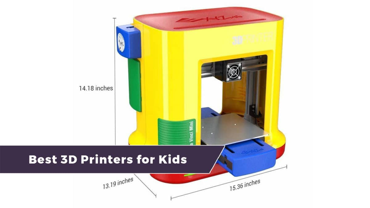 four of the best 3d printers for kids and teens