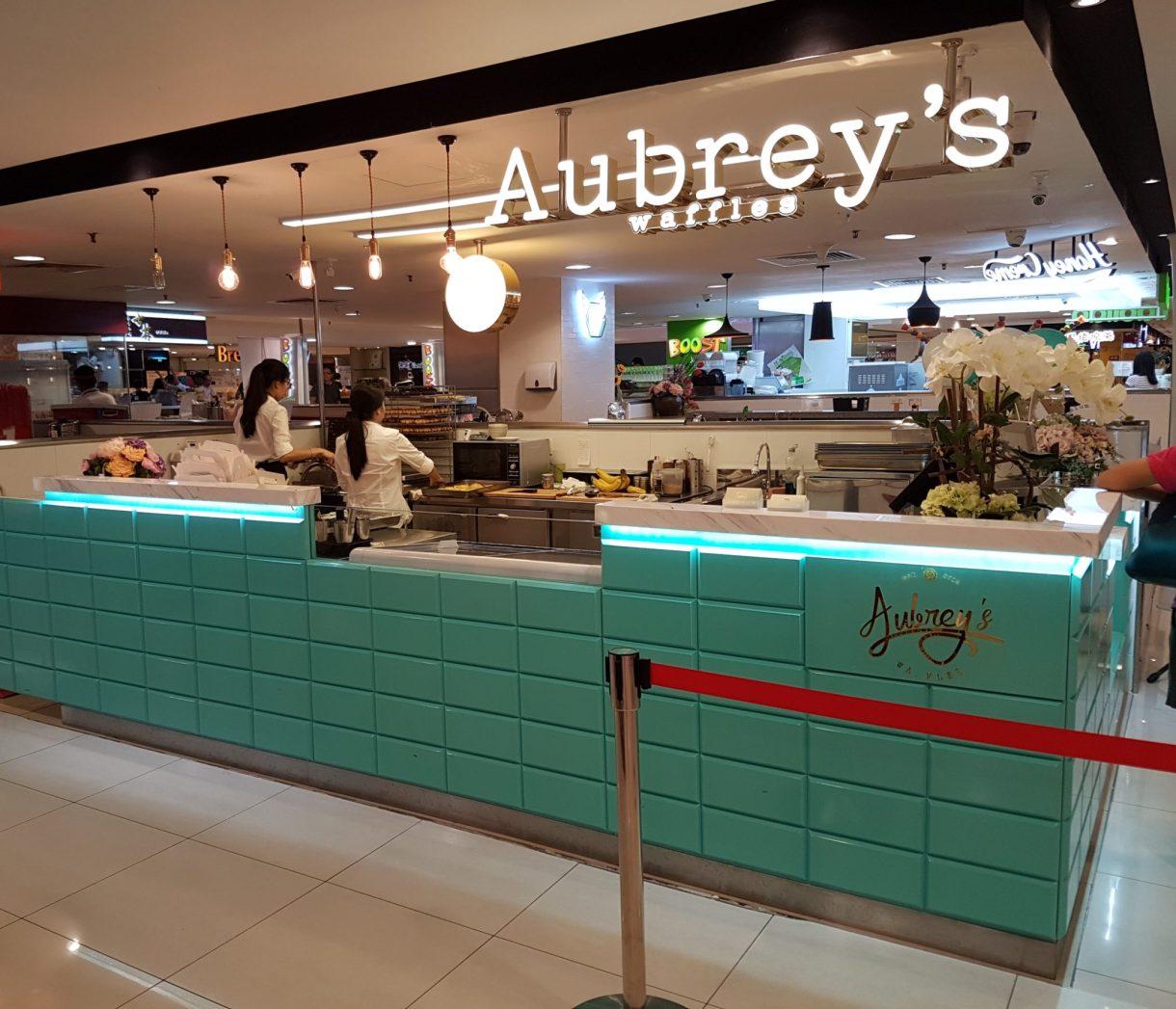 Audrey Waffle Gurney Plaza Penang