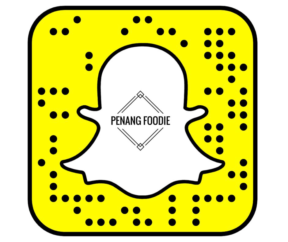 PenangFoodie Snapchat