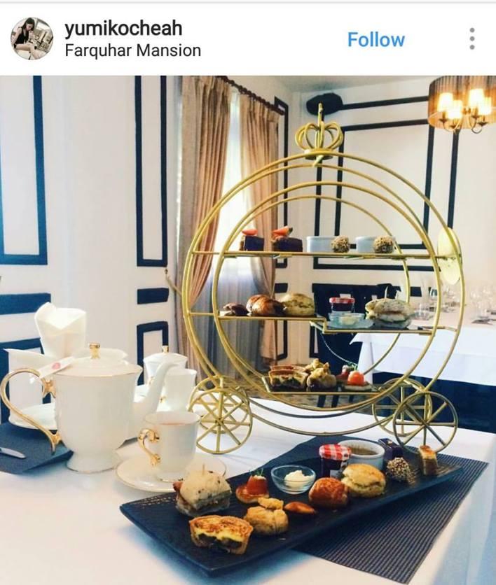 Farquhar Mansion high tea