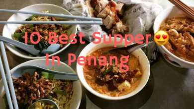 best supper places in penang