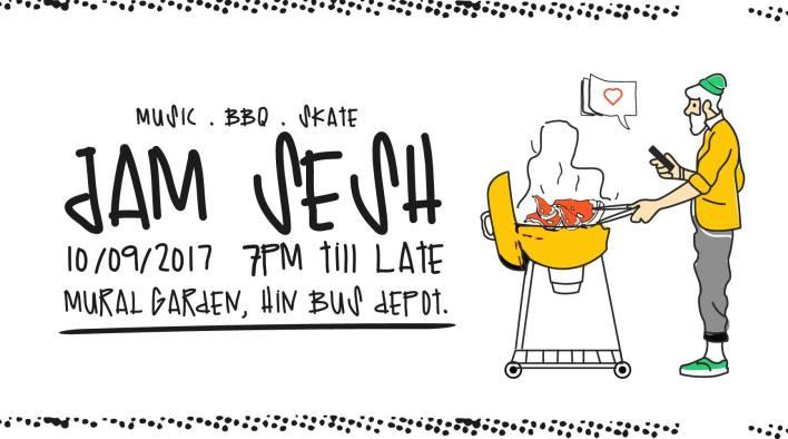 Jam Sesh (Music . BBQ . Skate)