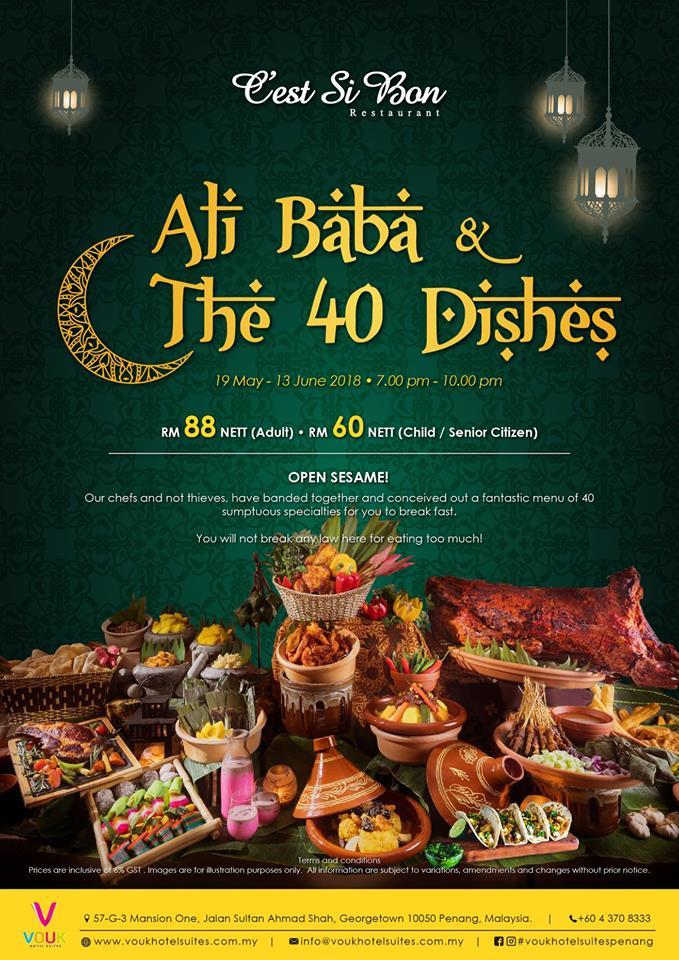 Ramadhan Buffet in Penang