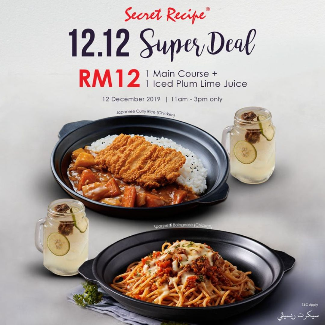10 Exciting Food Deals On 12 12 From Kfc More That You Shouldn T Miss Penang Foodie