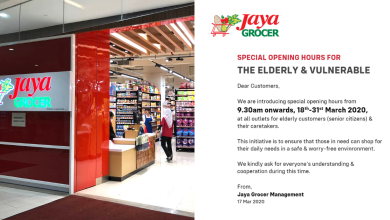 Jaya Grocer Special Opening Hours