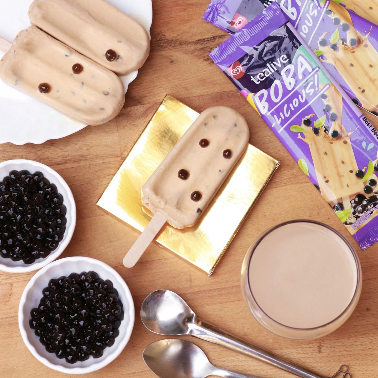 Wall's Tealive Boba Ice Cream
