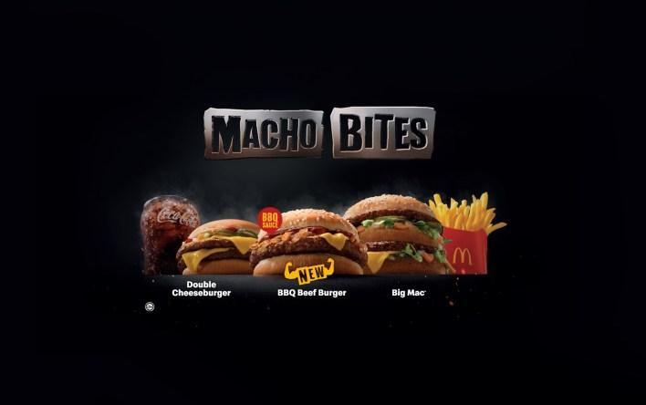 McDonald's Macho Bites