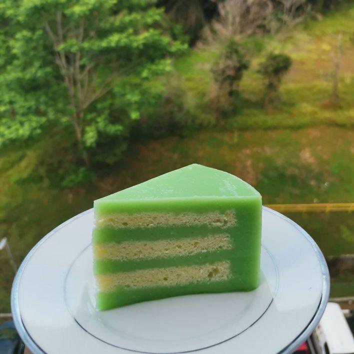 Pandan Layer Cake Recipe