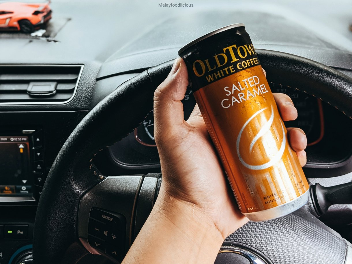 7-Eleven OldTown White Coffee Salted Caramel