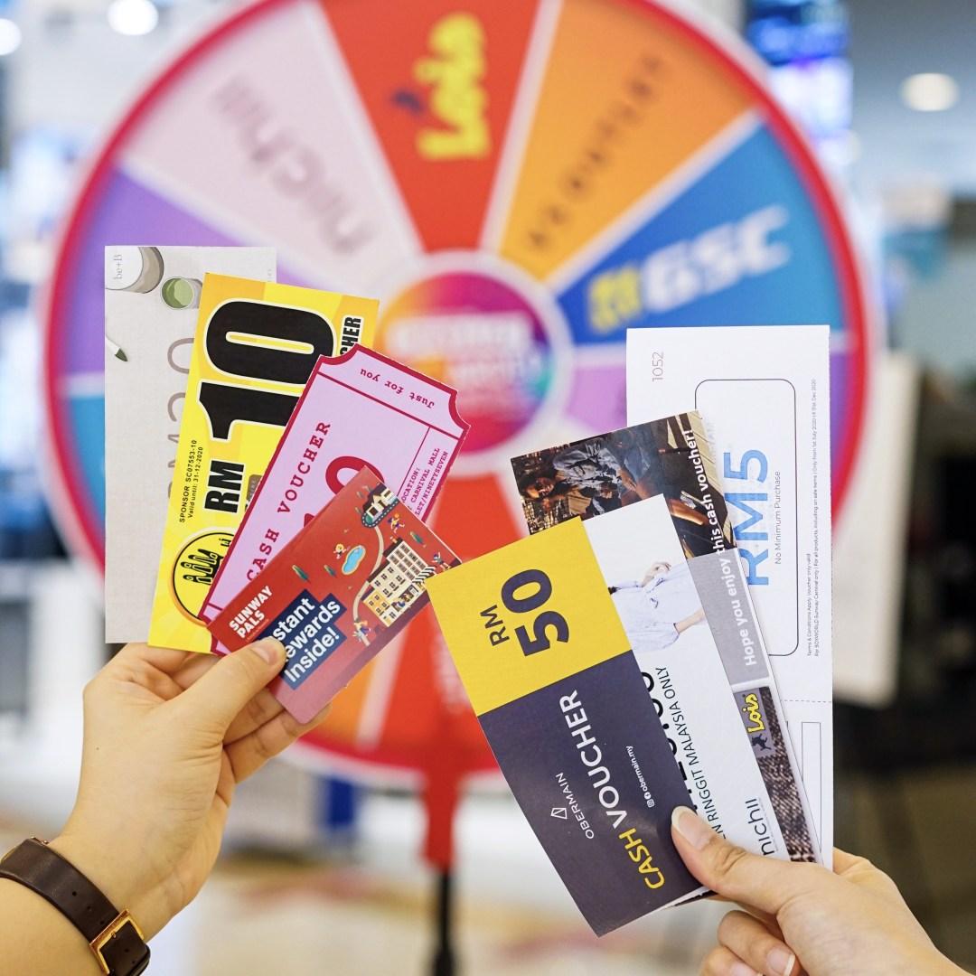 Sunway Carnival Mall July Rewards