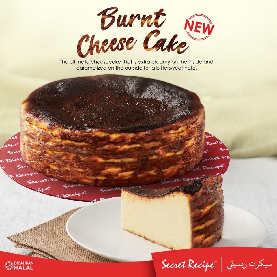 Secret Recipe Burnt Cheesecake