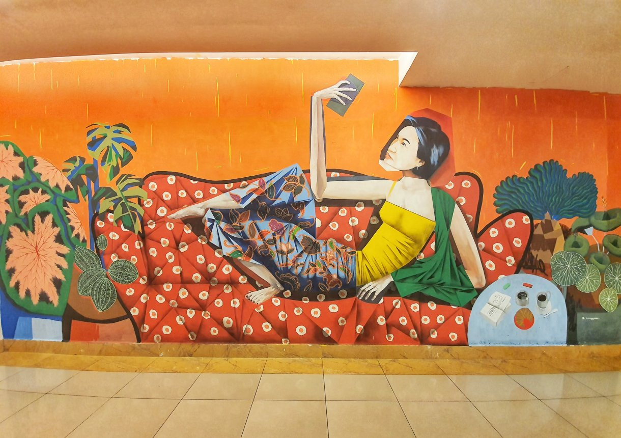 Murals at Sunway Carnival Mall Penang