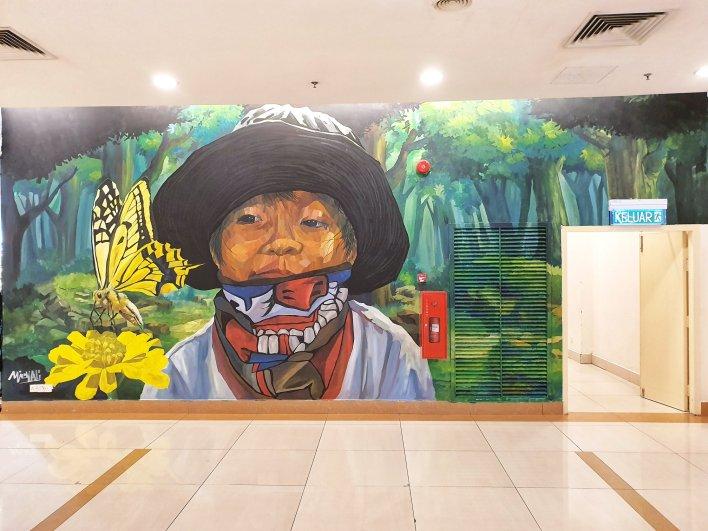 Murals at Sunway Carnival Mall Penang