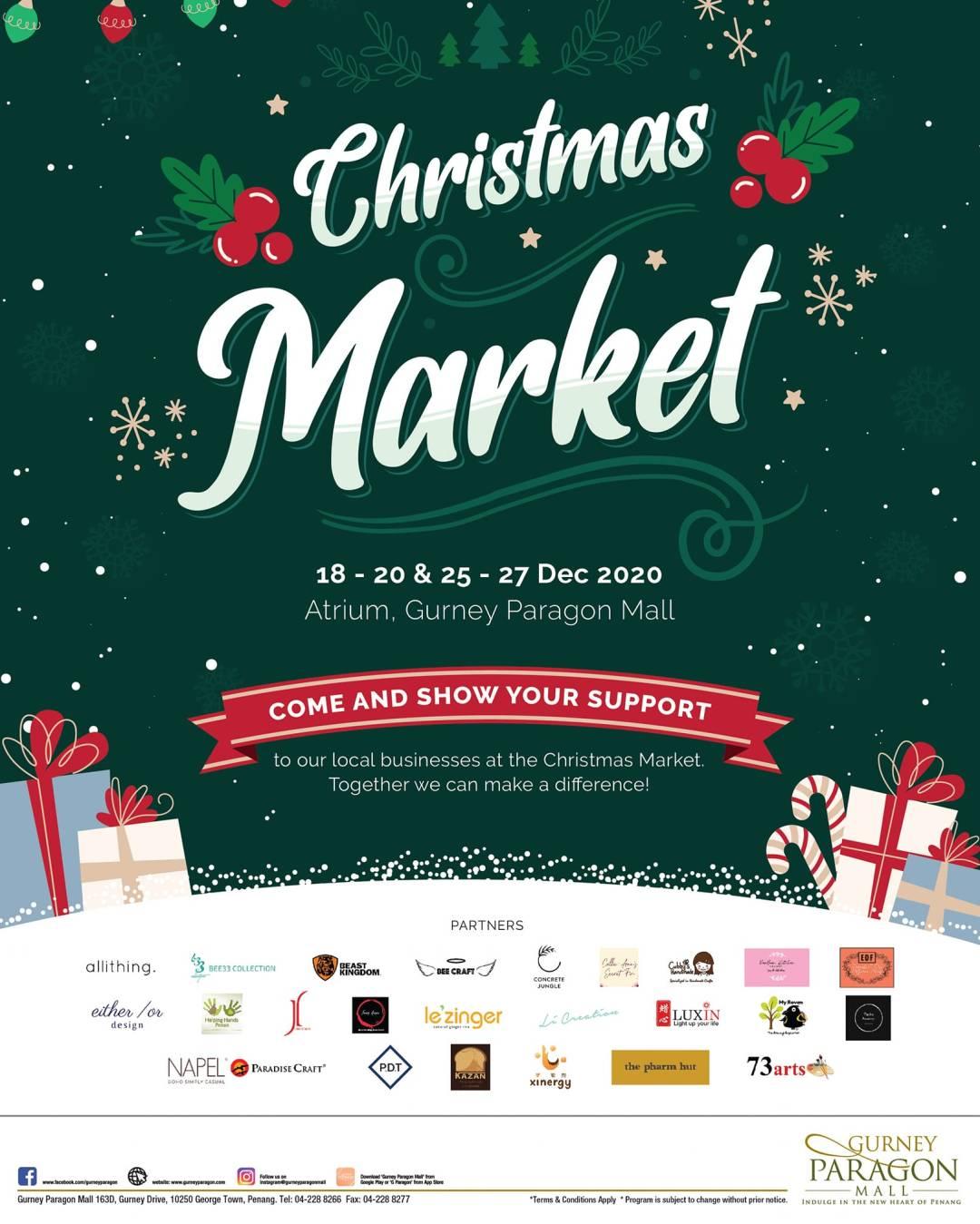 Gurney Paragon Christmas market