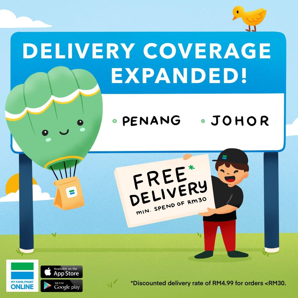 FamilyMart Delivery Penang