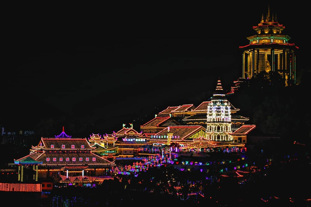 Kek Lok Si Temple Online Lighting
