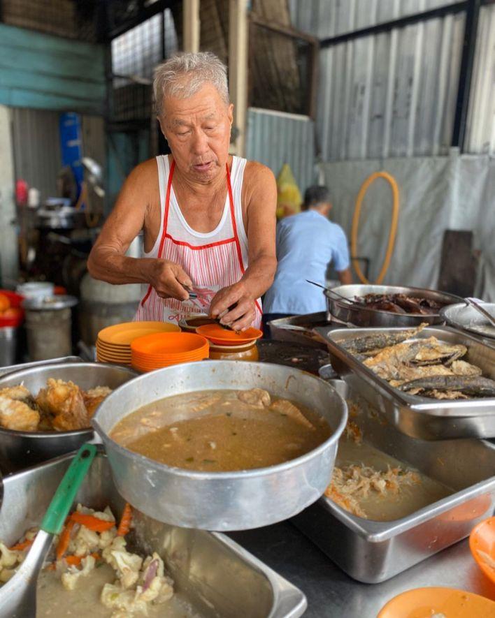 Penang Teochew Porridge Ceased Operations