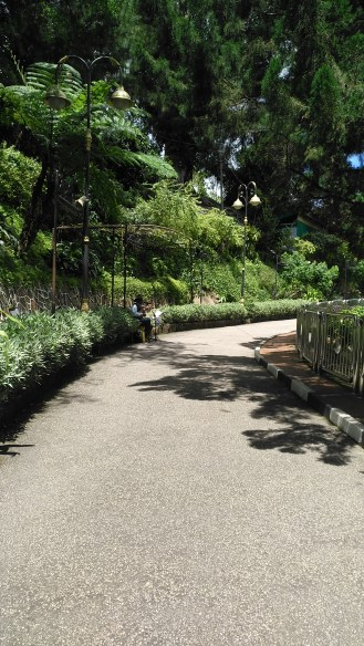Walkway towards The Habitat