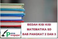 BEDAH KISI KISI MATEMATIKA SD BAB AKAR PANGKAT 2 DAN 3