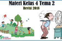 materi kelas 4 tema 2 revisi 2018