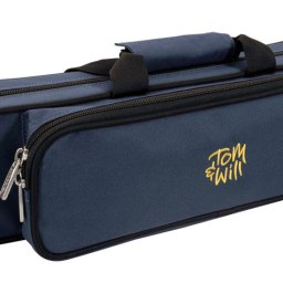 Tom & Will Flute Gig Case With Moulded Interior: 36FG Blue/Purpleavailable at Pencerdd Music Store Penarth
