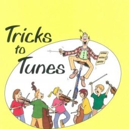 Tricks to Tunes Violin Book 3 available at Pencerdd Music Shop, Penarth
