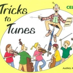 Tricks To Tunes Cello Book 2available at Pencerdd Music Shop, Penarth