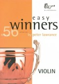 Lawrance: Easy Winners Violin with CD available at Pencerdd Music Store Penarth