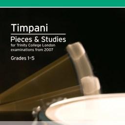 Trinity Timpani Pieces & Studies. Grades 1-5 available at Pencredd Music Store, Penarth