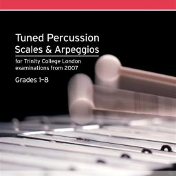 Tuned Percussion Scales & Arpeggios Gr 1-8available at Pencerdd Music Store Penarth