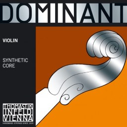 Dominant Violin strings available at Penarth Music Centre