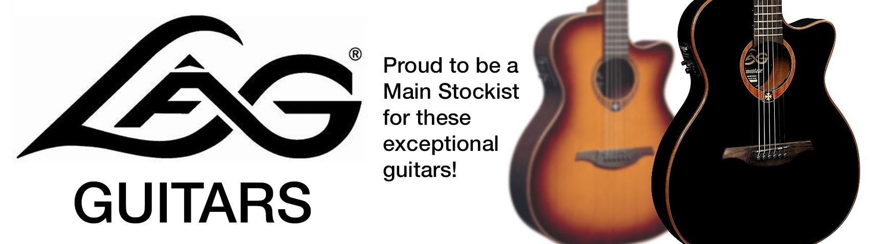 lag guitars main stockist at pencerdd music store