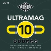 Rotosound Ultramag 10-46 Alloy 52 Electric Guitar Strings available at pencerdd music store penarth near cardiff