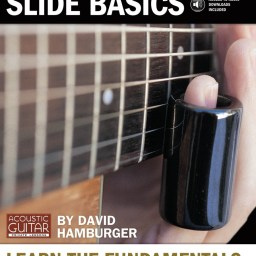 Acoustic Guitar Slide Basics - Hamburger available from Pencerdd Music Shop, Penarth