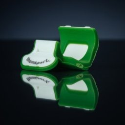 Thumbport - Flute Thumb Rest, Green available from Pencerdd Music Shop, Penarth