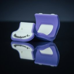 Thumbport - Flute Thumb Rest, Purple available from Pencerdd Music shop, Penarth
