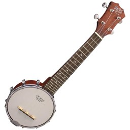 Banjo Ukulele Open Back Soprano by Barnes And Mullins available at Penarth Music Centre